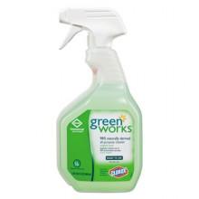 CLO 00456 Clorox Greenworks All Purpose Spray 12-32oz Per Each