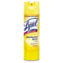 REC 04650CT Lysol Spray Regular Scent 12-19oz Aerosol Cans Per Case