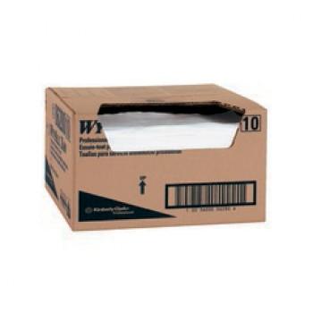 Kc 06280 Wypall X80 Food Service Extra White W Blue Stripe