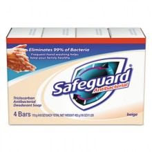 PGC 08833 Wrapped Safeguard Bath Bar 12/4 Pack 4oz