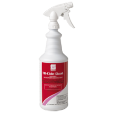 Spartan 102103 TB-Cide Quat Disinfectant Deodorizer R.T.U. 3 Trigger Sprayers Included 12/32oz Quarts Per Case