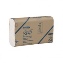KCC 01804 White Multifold Towel 4000 Towels Per Case