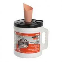 GPC 20040 Brawny Industrial Wiper Bucket w/Orange Wiper 2 - 200 Per Case