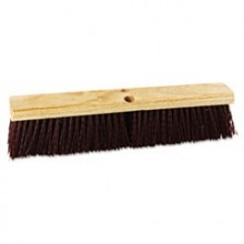 BRU 20336 Push Broom Red Plastic 36 Inch