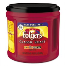 FOL 20421CT  Folgers Classic Roast Coffee 6-30.5 oz Per Case