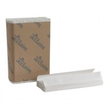 GPC 20603 C-Fold White Towels 2400 Towels Per Case