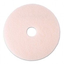 MMM 25858 20 Inch Pink Eraser Burnishing Floor Pad 5 Per Case