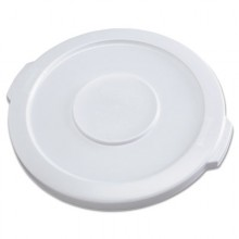 RCP 2609WHI  Brute Container White Lid Fits 2610 Brute