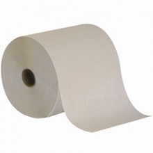GPC 28400 White Roll Towels 7-7/8IN x 625FT 12 Rolls Per Case