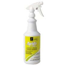 Spartan 3021L Lemon Scent R.T.U Air Freshener Deodorizer Includes 3 Trigger Sprayers 12 Quarts Per C