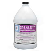 Spartan 311004 CX3 Bio-assist Extraction Cleaner With Consume Bacteria 1:64 4-1 Gallons Per Case
