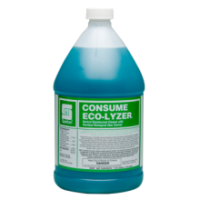 SPA 329704 Consume Eco-Lyzer Cleaner - Disinfectant - Deodorizer Dilution 1:64 4-1 Gallons Per Cas