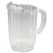 RCP 3336CLE Bouncer Pitcher 32 OZ Clear