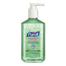 GOJO 363912CT Purell Instant Hand Sanitizer with Aloe 12-12oz Pump Bottles Per Case