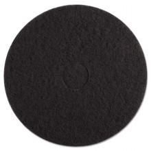 BKW 4017 BLA 17 Inch Black Stripping Floorpad 5/case