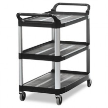 RCP 409100BLA Utility Cart Black