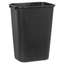 BWK 41QTWBBLA Soft-Sided Wastebasket, 41 qt Plastic Black Per Each