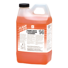Spartan SPA 481502 Clean On The Go Foamy Bath & Restroom Cleaner (132 Gallons) 4-2 Liters Per Case