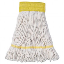 BWK 501WH Small Super Loop Mop Heads White Yarn 12/Case