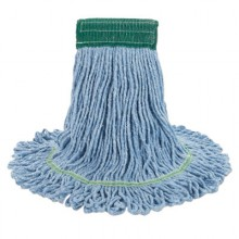 BWK 502BLCT Super Loop Mop Heads Medium Blue 12/Case