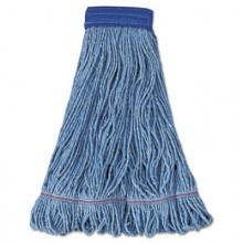 BWK 504BL Extra Large Super Loop Mop Head Blue 12/case