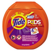 PGC 50978CT Tide Pods Spring Meadow Scent 4-72 Pods Per Case