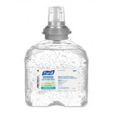 GOJO 549104CT TFX Purell Touch Free Green Seal Certified Instant Hand Sanitizer Gel 4/1200ML Per Case