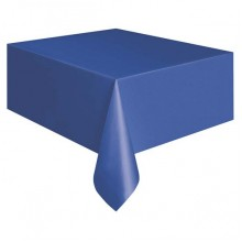 Northwest NWE 549RB 54x108 Royal Blue Plastic Table Covers 24 Per Case