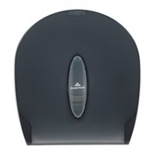 GPC 59009 Translucent Smoke Jumbo Jr. Toilet Tissue Dispenser Per Each
