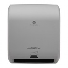 GPC 59460A enMotion Gray/Blue 10 Inch Automated Touchless Roll Towel Dispenser Per Each
