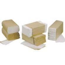 SCA CB530 C-Fold Bleached Towels 10.25 IN x 13 IN 2400 Towels Per Case