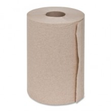 TRK RK350A Brown Dispenser Roll Towel 2 Inch Center Core 7 7/8IN x 350FT 12 Rolls/Case