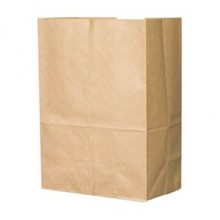 BAG SK1652 1/6 50lb Brown Bags 500 Bags Per Bale