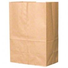 BAG SK1657 1/6 57lb Brown Bags 500 Bag Per Bale
