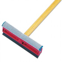 BWK 824 8 Inch General Duty Squeegee with 21 Inch Wood Handle
