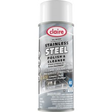 Claire C-840 Oil Based Stainless Steel Cleaner/Polish 12-16oz Per Case
