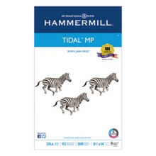 HAM 162016 Hammermill® Tidal MP Copy Paper, 92 Bright 20lb 8-1/2 x 14 White 500 Sheets Per Ream
