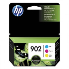 HEW T0A38AN HP 902, (T0A38AN) 3-pack Cyan/Magenta/Yellow Original Ink Cartridges