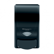 DEB 91128 DEB ProLine Curve Manual 1 L Black Soap/Sanitizer Dispenser Per Each