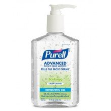 GOJO 969112CT PURELL Green Certified Instant Hand Sanitizer 12-8oz Pump Bottles Per Case