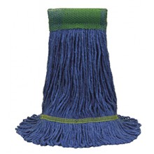 OCD 97158 Extra Large Blue Cotton/Synthetic Blend Loop Wet Mop Head Per Each