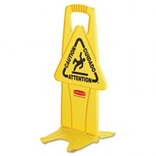 RCP 9S0900YEL Stable Safety Sign Yellow Per Each