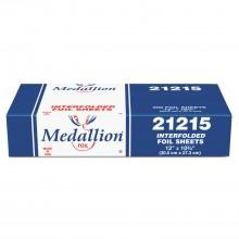 HFA 21215/21210 12IN x 10.75IN Pop Up Foil Sheets 200 Per Box