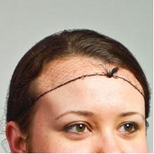 RPP RPH144LTBKBX Black Hair Nets 144 Per Box