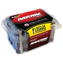 RAY ALAA24PPJ Ultra Pro AA Alkaline Batteries 24 Per Pack