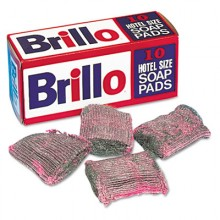 PUX W240000 Brillo Steel Wool Soap Pad 10/Box Per Box