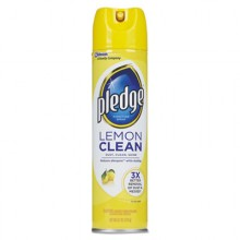 SJN 697831 Pledge Lemon Scent Furniture Polish 12-9.7oz Cans Per Case