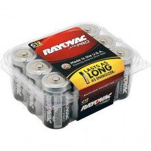 RAY ALC12PPJ Ultra Pro C-Cell Alkaline Batteries 12 Per Pack