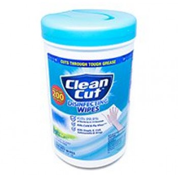 GNO 00097 Clean Cut Disinfecting Wipes Fresh Scent 6 Canisters 200 Sheets Per Case