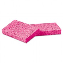 BWK CS1A Small Cellulose Pink Sponge 1x3 5/8x6 3/8 48/case